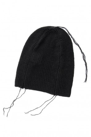 The Viridi-anne 18SS Knit Cap Black