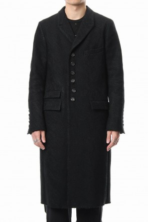 The Viridi-anne 18-19AW Embroidery joining chester coat