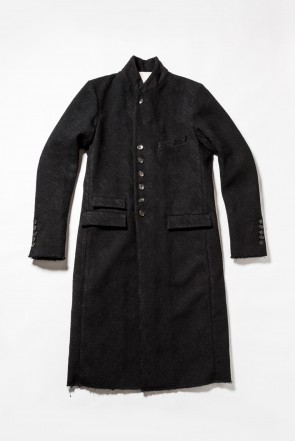 The Viridi-anne18-19AWEmbroidery joining chester coat