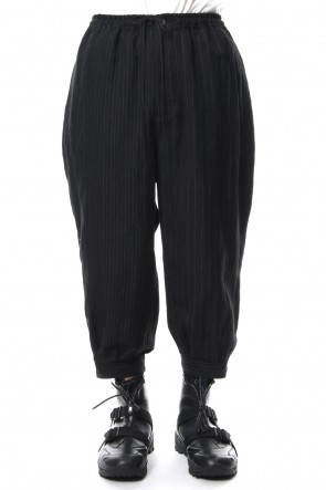 The Viridi-anne 18-19AW Random stripe cropped pants