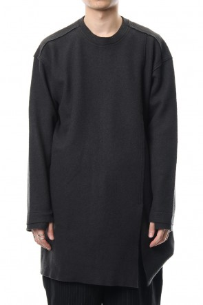 The Viridi-anne 18-19AW Contraction pullover
