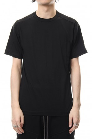 The Viridi-anne 19SS Cotton silk regular T-shirt Black