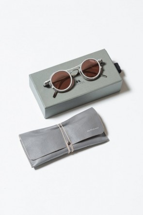 The Viridi-anne 19SS RIGARDS collaboration sunglasses Black / Silver