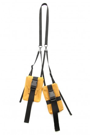The Viridi-anne 19SS Neck Pouch (Double) Yellow