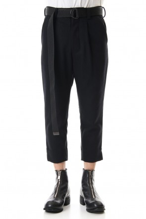 The Viridi-anne 19-20AW Melton Cropped Pants