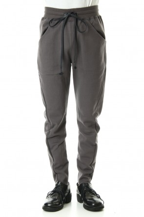 The Viridi-anne 19-20AW Mercerized Fleece lining Slim Pants