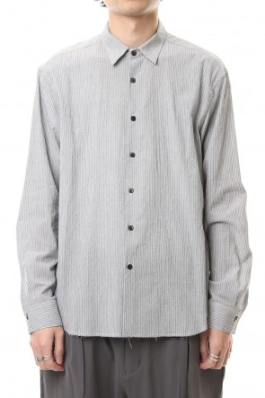 The Viridi-anne 20SS Salt shrinkage Long sleeve shirt