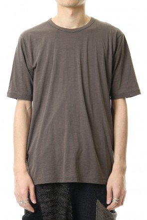 The Viridi-anne 20SS Cotton cashmere Short sleeve T-shirt Olive Drab