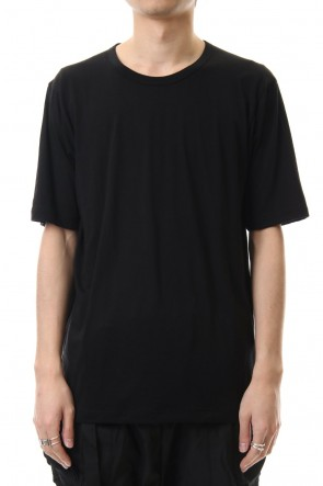 The Viridi-anne 20SS Cotton cashmere Short sleeve T-shirt Black