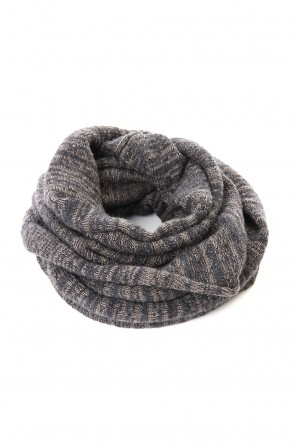 The Viridi-anne 19-20AW DANIEL ANDRESEN collaboration Snood - Charcoal / Ice
