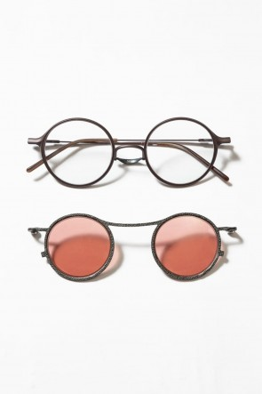 The Viridi-anne19-20AWRIGARDS collaboration sunglasses - Moss / A.Brown