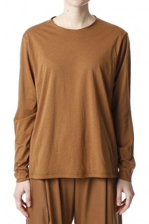 H.R 6 20SS Classic Long sleeve Camel for women