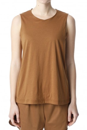 H.R 6 20SS Classic Tank Top Camel for women