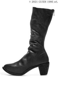 Guidi Classic 5009 - High Heel Back Zip Middle Boots