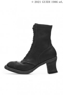 Guidi Classic 5408 - High Heel Laced Up Top-Ankle Boot