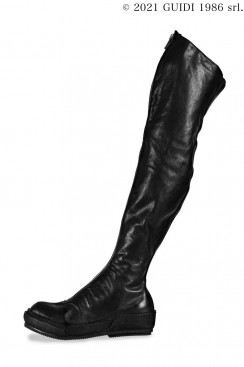 Guidi Classic PLS4 - Front Zip Over-The-Knee Sneaker Boots