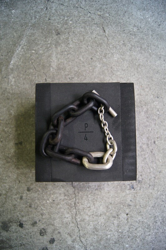 Parts of Four Toggle Chain Bracelet (S)