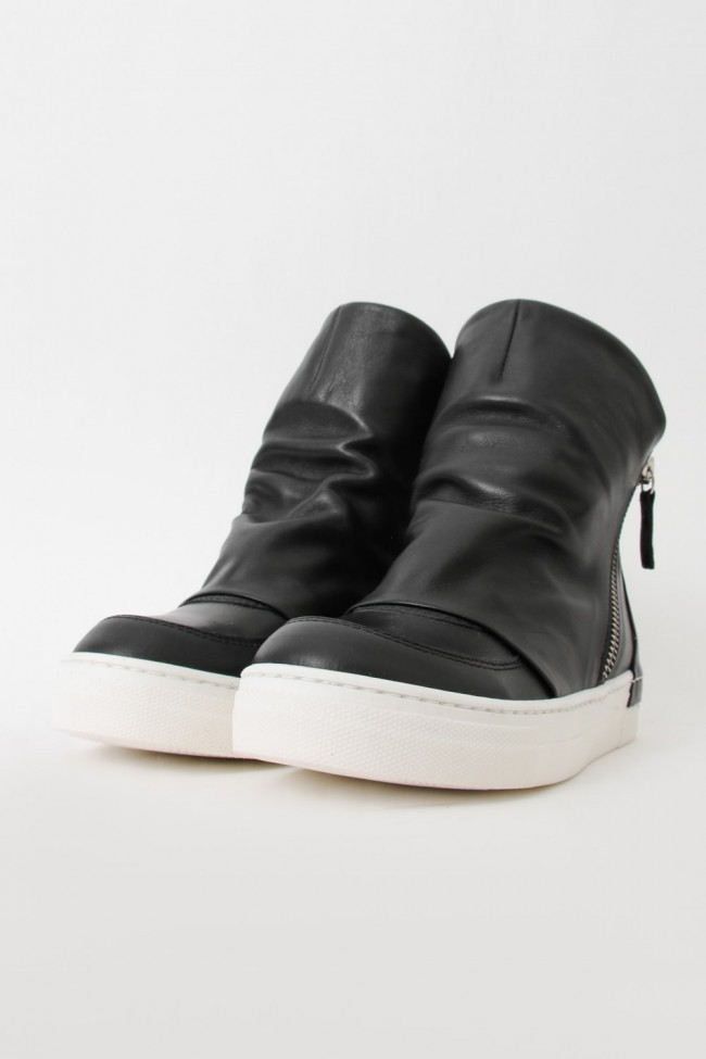 """16AW ARAIA KIDS """"JOY COLORS"""" NERO Layered Side Zip Sneakers BLACK SIZE 30 (4〜5 Years old)"""