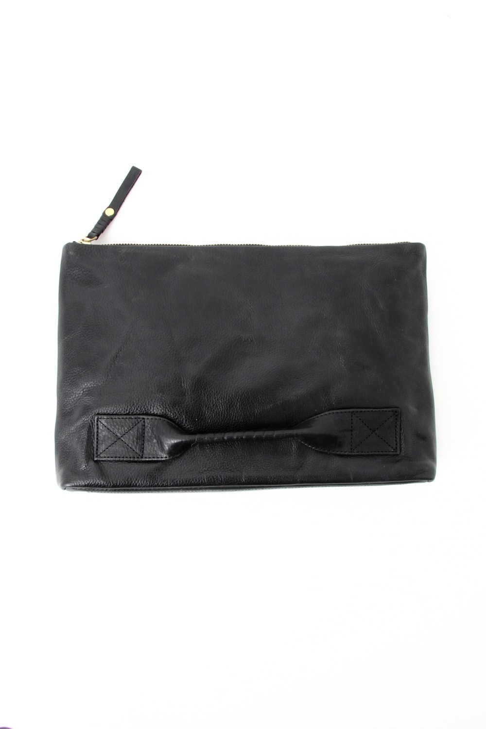 4 handle file - Clutch bag-Black-Free