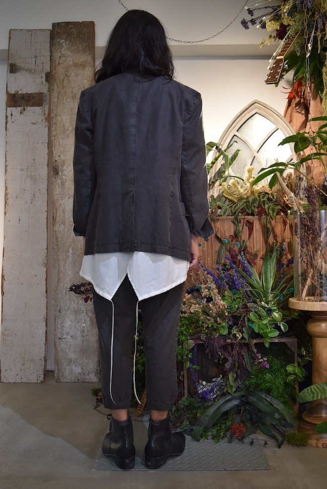 17SS 3/4 Sleeve fish tail pullover