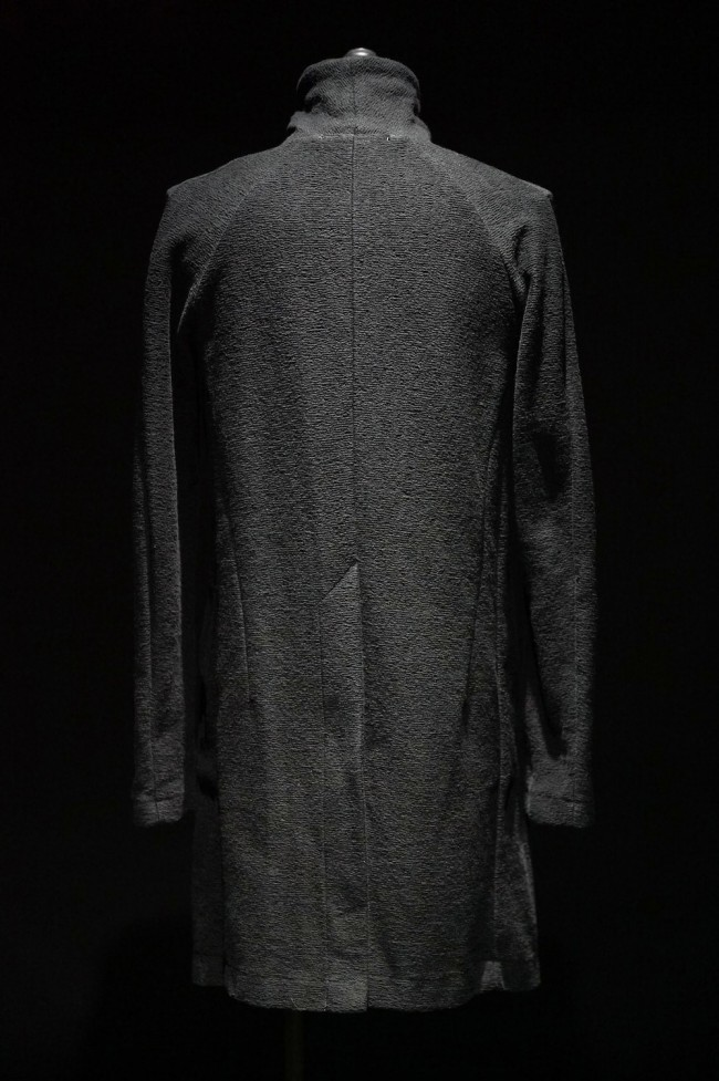 16AW Uneven Inlay Long Jacket