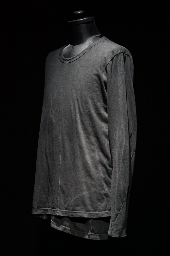 16AW Uneven layered long sleeves T
