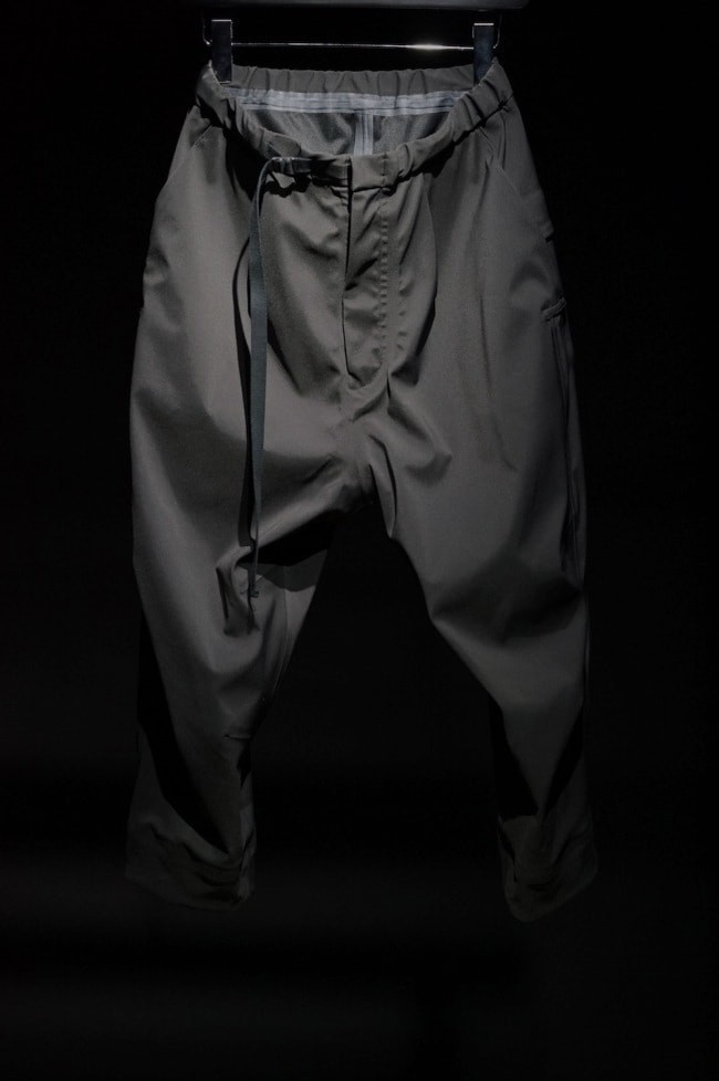 16AW Schoeller Quick Dry Water Repellent Stretch Fabric Anorak Cropped Pants