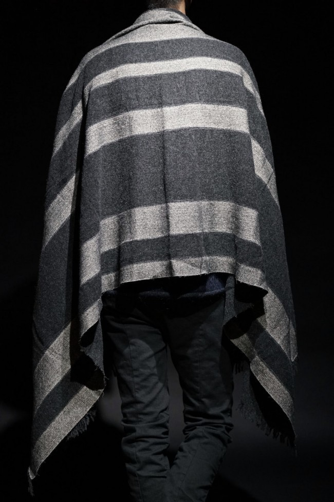 16AW DOUBLE FACE BIG BLANKET 90cm×200cm