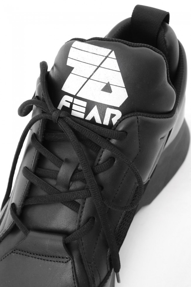 17SS  7D.FEAR SNEAKERS BLACK