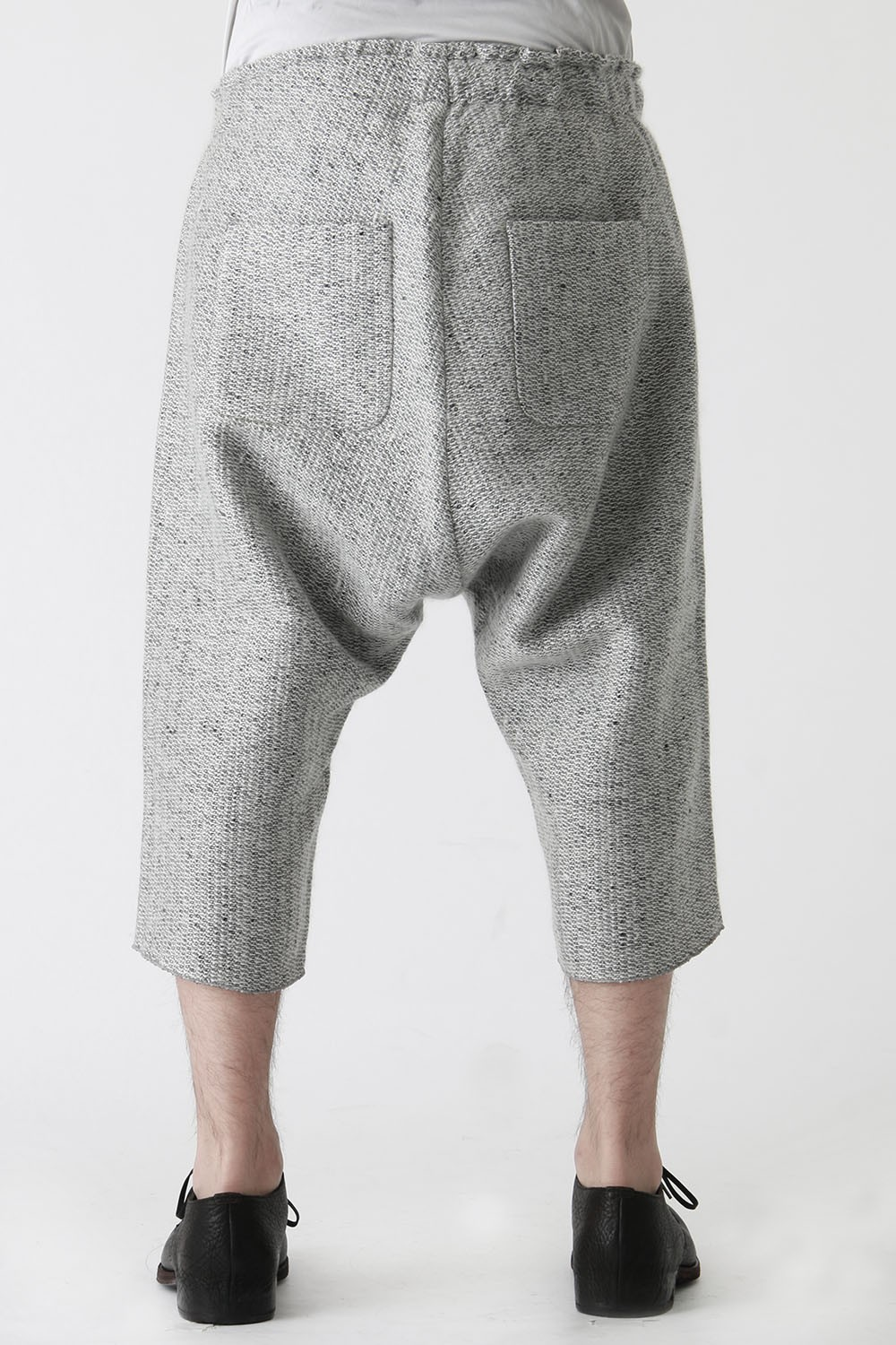Nep Wool Mohair Tweed Easy Half Pants