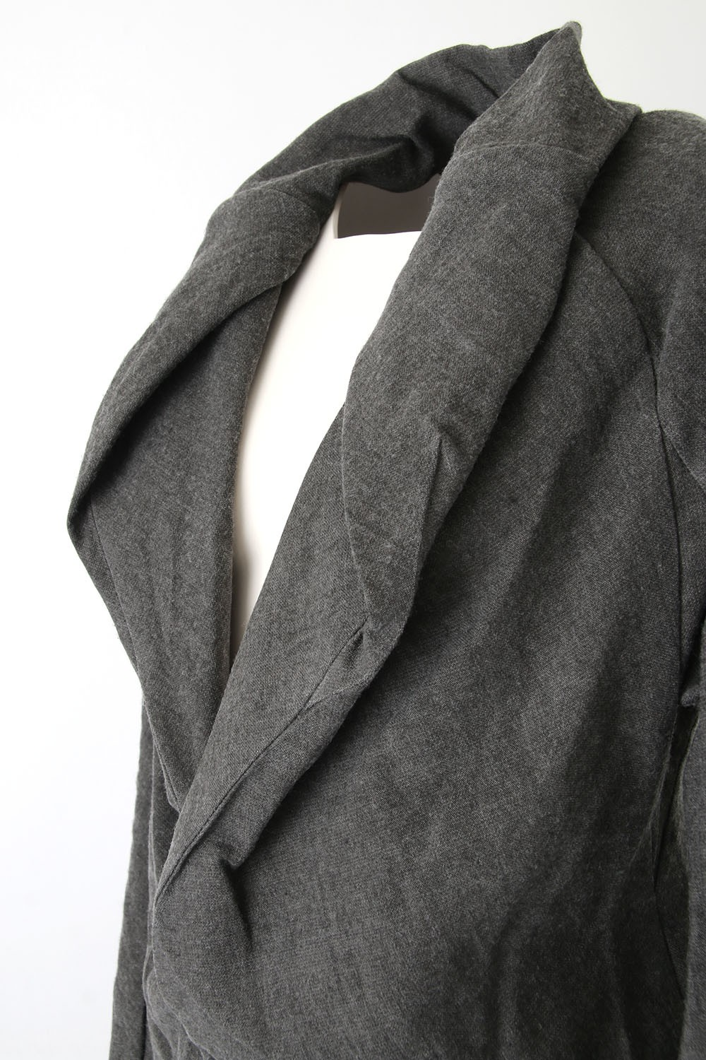Wool Linen Cotton Washed Cloth Jacket - 06-J02