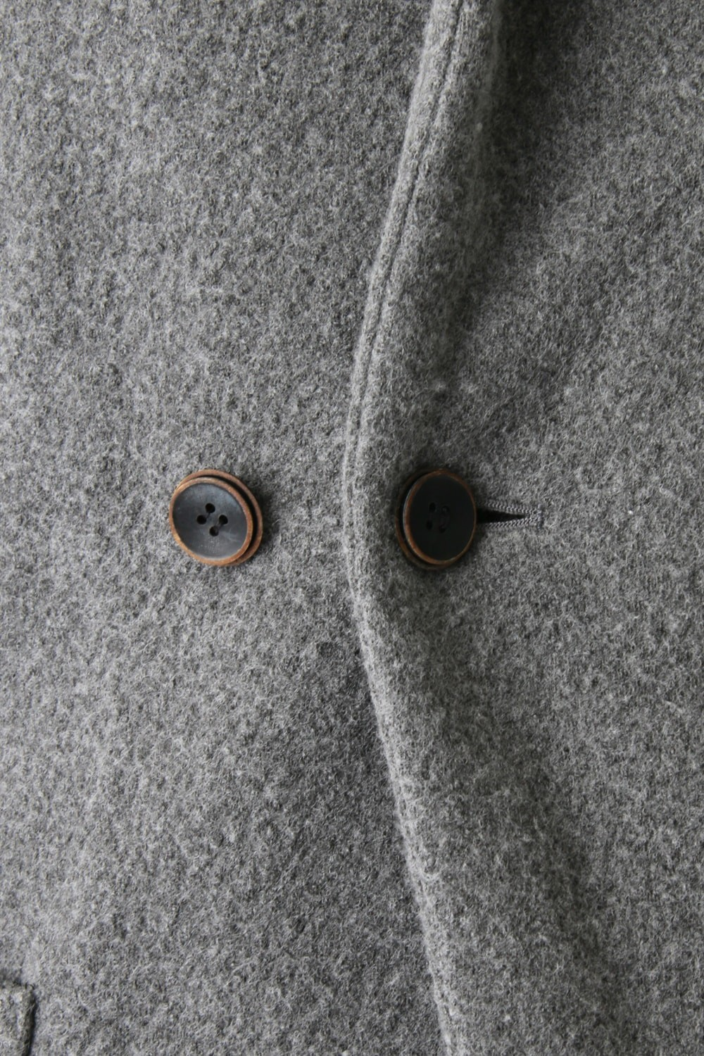 Compression Wool Jersey Mao Collar Jacket