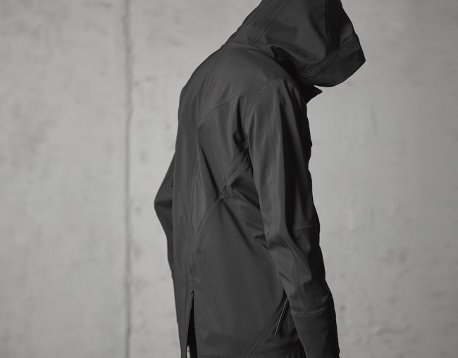16AW Schoeller Quick Dry Water Repellent Stretch fabric Anorak