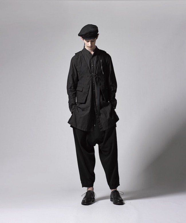17SS Typewriter/Double Gaze Long Shirt
