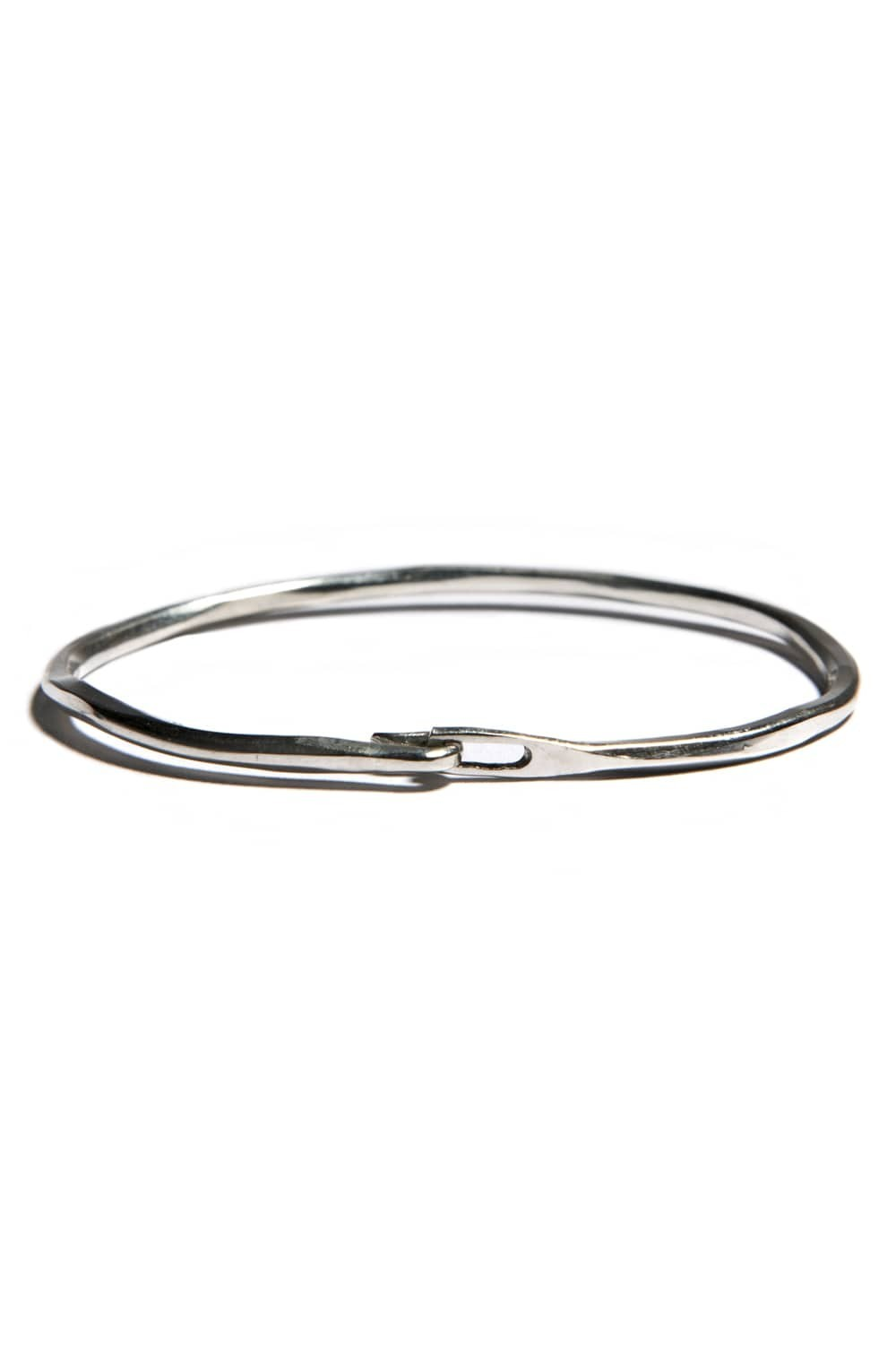 Hammered Hook Bangle (HA)