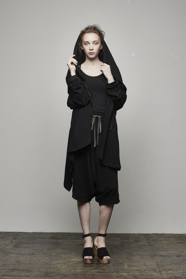 Big Hooded Cardigan - AL-1370