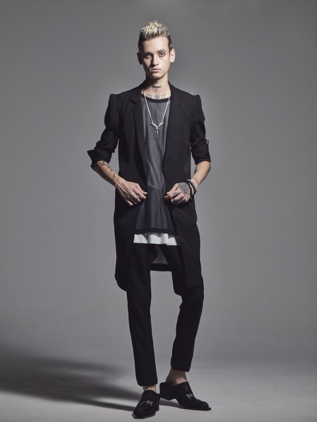Stand Collar Long Jacket