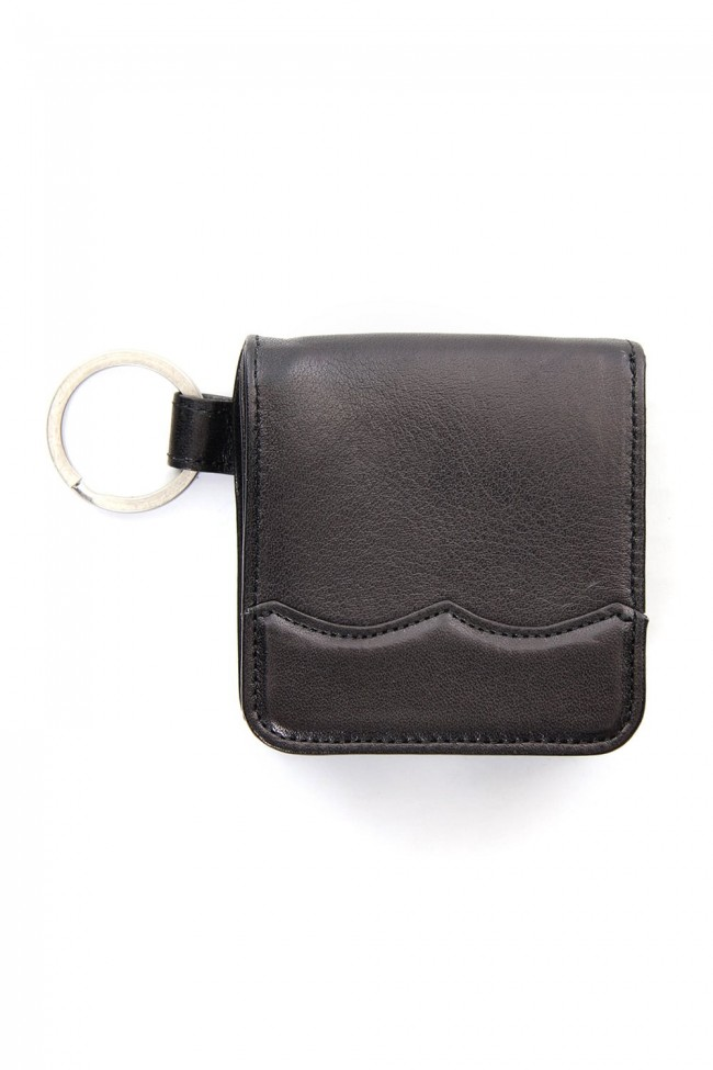 Wing Chip Coin Case Black