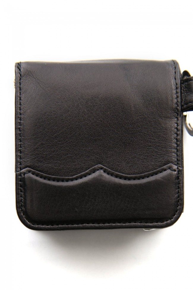 Wing Tip Coin Case Black