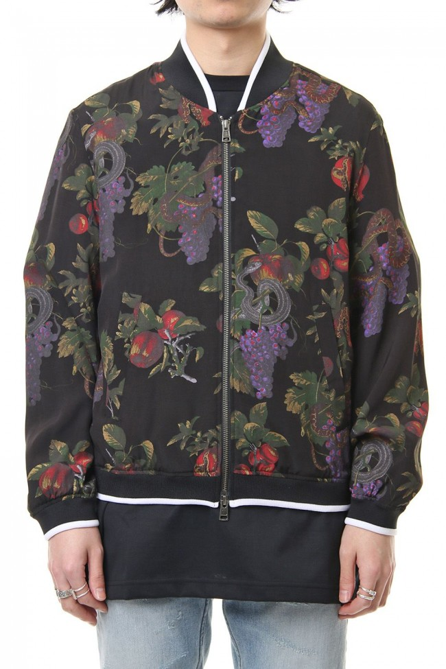 Forbidden fruit zipped blouson
