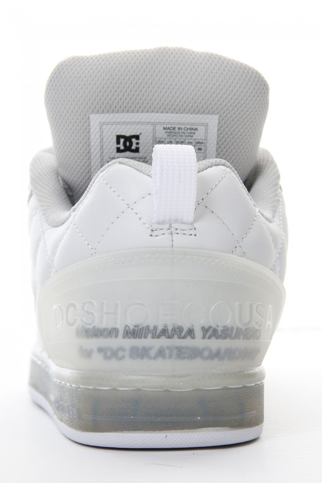 DC Shoes Collaboration Sneaker White