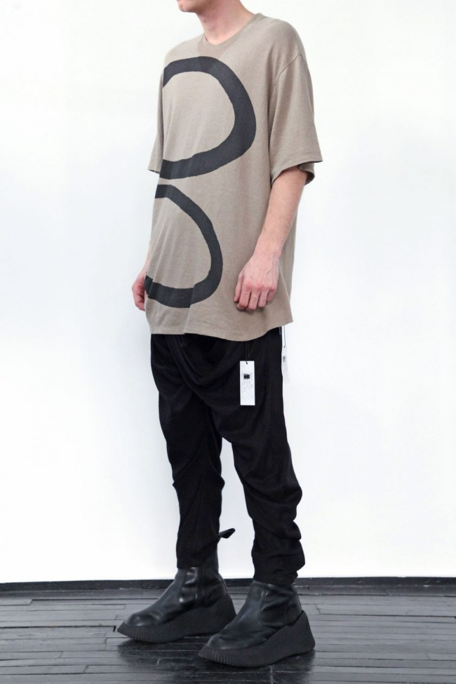 PT Shirring S/S cut & sewn Sand
