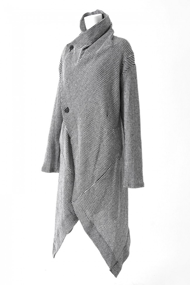 Low Gauge Seed Stitch Knit Coat - DK11-CS07-C03