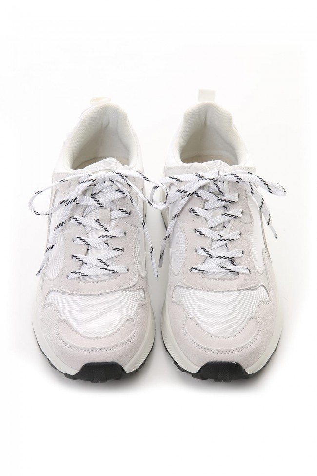 Combination Sneaker - White