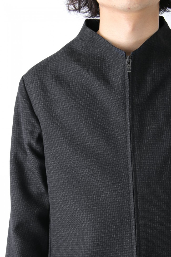 Fascinate Limited Coat Wool Hight twist Hound's Tooth