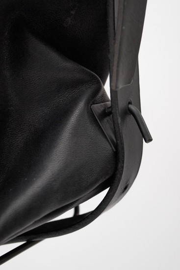 Japanese Horse Leather Big Shoulder Bag