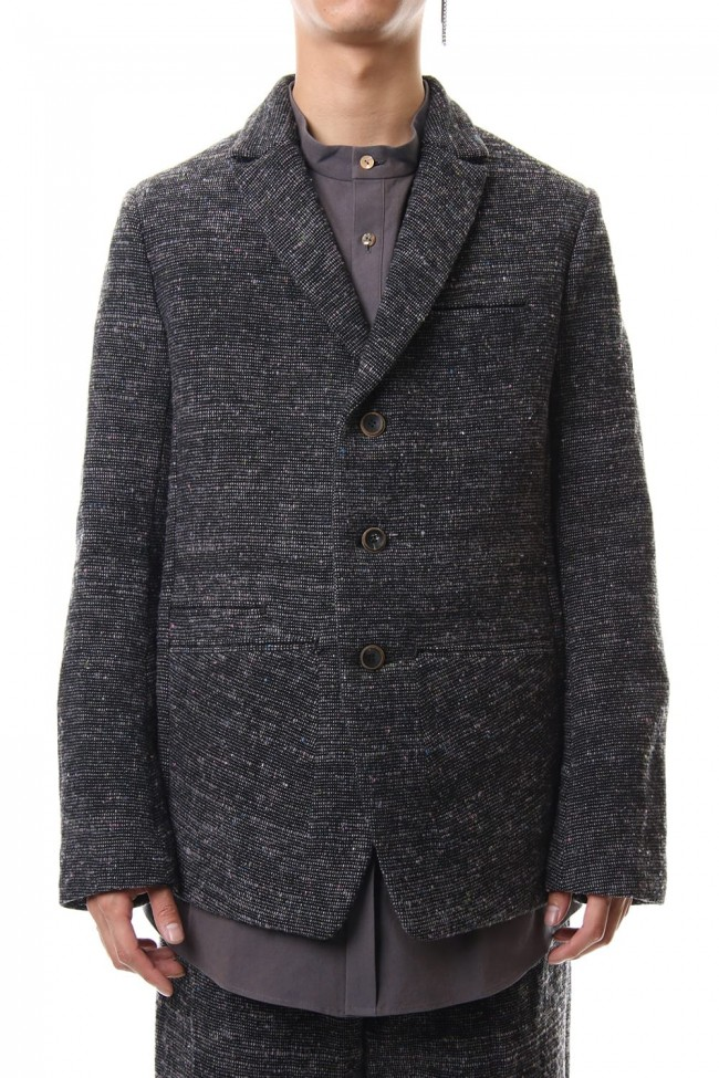 Mix Color Wool Tweed - JK59-MW12