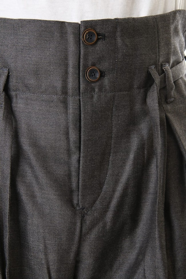 Wool Twill High West Pants - PA83-LW4