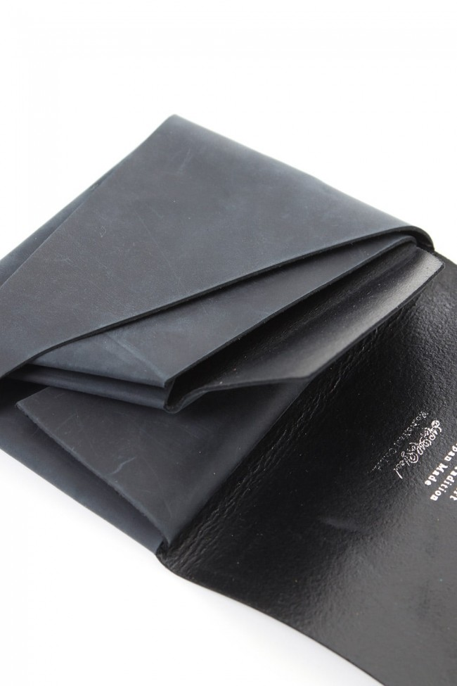 No,No,Yes! -shosa- Short Wallet 1.0  Oil Nubuck Black