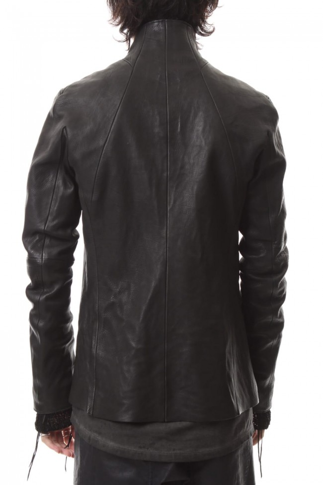 Japan Calf Leather Tailored Shirt JKT